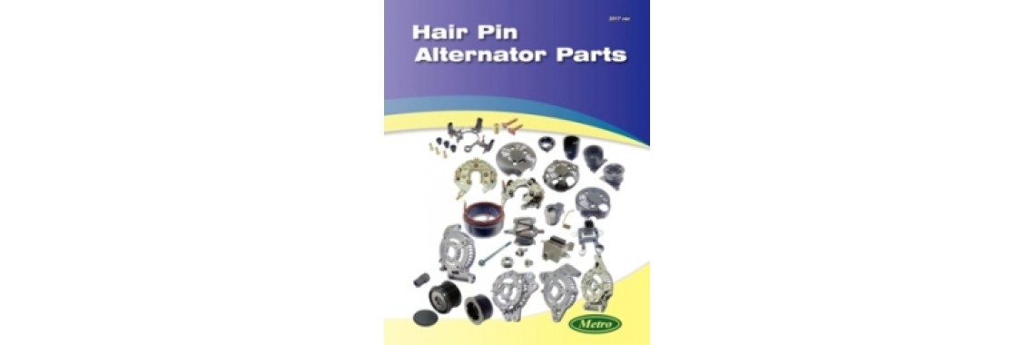 Hair Pin Alternator Parts Catalog